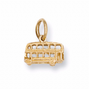 9ct Gold London Bus pendant 1g